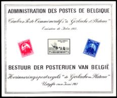 Belgium (1947) Adrien De Gerlache Expedition. Joseph Plateau.  Scott Nos 371-3.  Yvert No 748-50. 20th Anniversary Of Ge - Luxevelletjes
