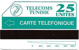 @+ Tunisie - Télécarte Urmet Tunisie Telecom - 25U Tunipac - Erreur 'Telefonique' - Neuve - Ref : TUN-TT-01 - Tunisia