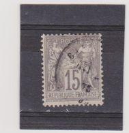 FRANCE    1876-78  Y.T. N° 66  Oblitéré - 1876-1878 Sage (Type I)