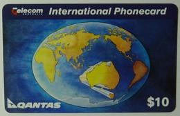 AUSTRALIA - Qantas - 1st Remote Dial Trial - 1994 - $10 - Mint - Australia