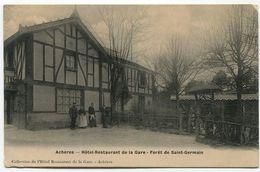 ACHERES Hôtel Restaurant De La Gare Forêt De Saint Germain - Acheres