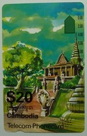 CAMBODIA - OTC International - $20 - Anritsu - Old Palace - Mint - Cambodia