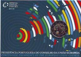 BU KMS 2007 2 Euro Présidence Union Européenne Coincard BNC Portugal Португалия Portogallo Πορτογαλία Portugalsko - Portugal