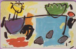 Télécarte Luxembourg °° SC06 - Peintre Gast Michels - 1992 Contemporain - Sc7 - 120u - RV. - Luxembourg