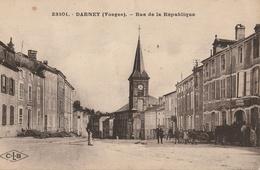 DARNEY  Rue De La République - Darney