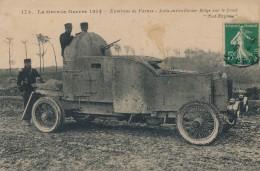 H30 - MILITARIA - La Grande Guerre 1914 - Environs De Farnes - Auto-Mitrailleuse Belge Sur Le Front - Equipment