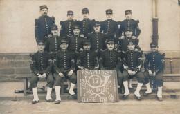 H30 - MILITARIA - Carte Photo - Sapeurs Du 17e Genie - Toujours Quand Même - Classe 1910 - War 1914-18