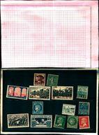 85818) Francia Lotto Francobolli Misto- Mnh**-mlh*+sg+usati Come Da Foto - Francia