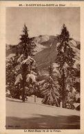 CPSM St-Gervais-les-Bains En Hiver - Le Mont-Blanc Vue De La Venaz - Saint-Gervais-les-Bains