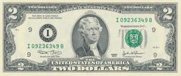 USA -  2003  , 2 DOLLARS  Thomas Jefferson  - Bankfrisch - USA