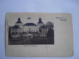 Environs De Maestricht - Maastricht Omgeving // Chateau De Borgharen // Ca 1900 Ronde Hoeken - Zeldzaam - Maastricht