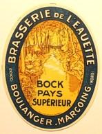 Etiquette Ancienne BIERE - Brasserie De L'EAUETTE - BOULANGER - MARCOING Nord     /E252 - Bière