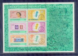 St.vincent /1980 Iternational Stamp Exhibition / Mnh.good Condition - Briefmarkenausstellungen