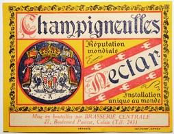 CHAMPIGNEULLES - Brasserie Bière - Belle étiquette Ancienne  /E254 - Bière
