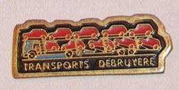Pin's CAMION 048 TRANSPORTS DEBRUYERES - Transportation