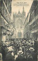 METZ 1907-  18em Congrès Euch., Procession.(éditeur J Hurtin). - Metz