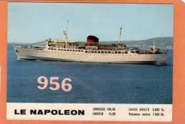 * * LE NAPOLEON * * à La Sortie Du Port De Nice - Steamers