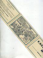 ROYAT Castel Hôtel Dépliant 3 Volet Format Cartes Postales - Bon état - Royat