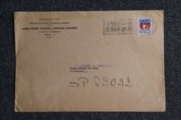 Lettre De FRANCE ( PARIS) , N°1354 B - Marcophilie (Lettres)