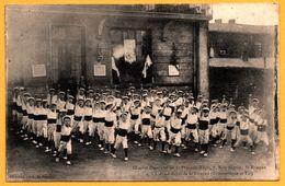 Oeuvres Ouvrières De St François Régis - L'Avant Garde De St Etienne - Gymnastique Et Tir - Photo ALLEMAND - 1907 - Saint Etienne