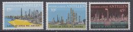 Nederlandse Antillen - 50 Jaar Olie-industrie Aruba - MNH - NVPH 492-494 - Fabrieken En Industrieën