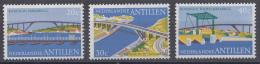 Nederlandse Antillen - Bruggen - Koningin Emmabrug/koningin Julianabrug/koningin Wilhelminabrug - MNH - NVPH 500-502 - Bruggen