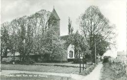 Dreumel 1972; Herv. Kerk Met Oude Pastorie - Geschreven. (P.J. A. V. Lith - Dreumel) - Pays-Bas