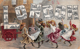 Angleterre England - London - Souvenir Card - Dancers Dance Young Girls - Danseuses Jeunes Filles - London