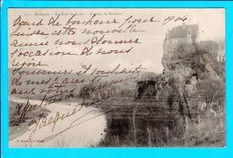 Cpa  Carte  Postale Ancienne  - Environs De Sarlat Chateau De Monfort - Sarlat La Caneda