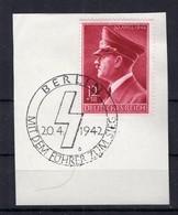 DR-3.Reich 813 Herrliches Gest. Luxusbriefstück (75229 - Deutschland