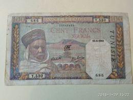 100 Francs 1941 - Tusesië