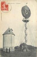 MARSAUCEUX - L'éolienne. - Invasi D'acqua & Impianti Eolici