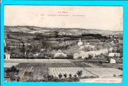Cpa  Carte  Postale Ancienne  - Castera Verduzan Vue Generale - Castera