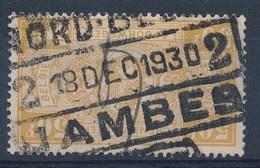 """BELGIE - TR 166 - Cachet  """"NORD-BELGE - JAMBES 2"""" - (ref. LVS-18.844) - Chemins De Fer"""