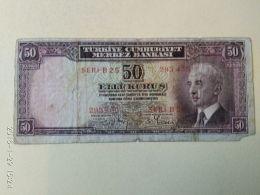 50 Lirasi 1930 - Turquie