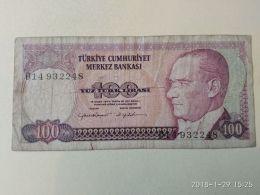 100 Lirasi 1970 - Turchia