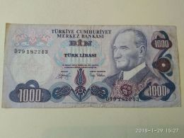 1000 Lirasi 1970 - Turchia