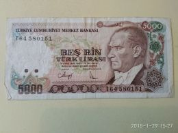 5000 Lirasi 1970 - Turchia