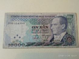 10000 Lirasi 1970 - Turchia