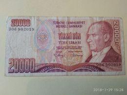 20000 Lirasi 1970 - Turchia