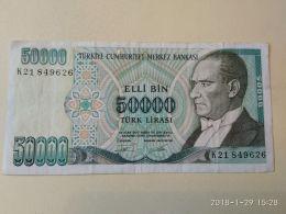 50000 Lirasi 1970 - Turchia