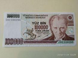 100000 Lirasi 1970 - Turchia