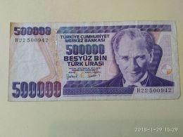 500000 Lirasi 1970 - Turchia