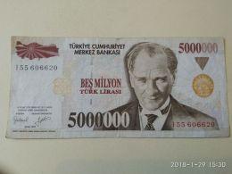 5000000 Lirasi 1970 - Turchia