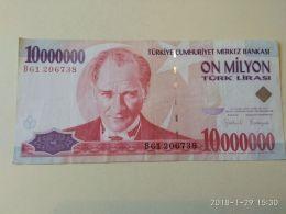 10000000 Lirasi 1970 - Turchia