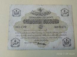 Impero Ottomano 5 Piastre - Turkey