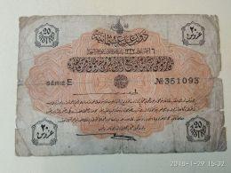 Impero Ottomano 20 Piastre - Turquie