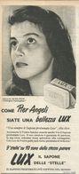 PIER ANGELI  RITAGLIO DI GIORNALE 1952 - Vecchi Documenti
