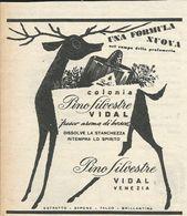 PINO SILVESTRE VIDAL VENEZIA RITAGLIO DI GIORNALE 1952 - Vecchi Documenti