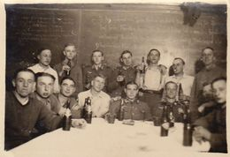 Photo Guerre Groupe Militaire Allemand 1941 - Guerre, Militaire